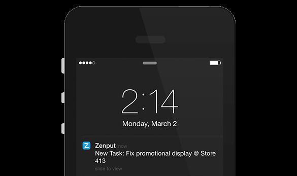 Mobile Task Push Notification
